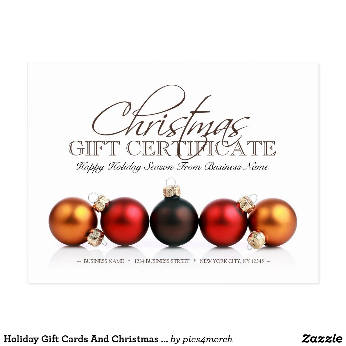 Best Gift Cards For Christmas 2020 Holiday Gift Cards And Christmas Gift Certificates | Zazzle.in