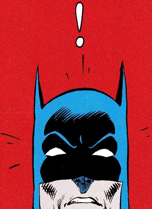 4d620dcad batman pop art. is he scared by me   P