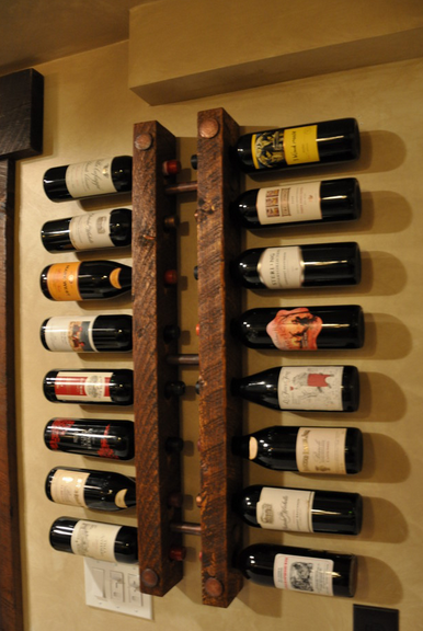 portabottiglie da parete arredamento design accessori On portabottiglie vino da parete design