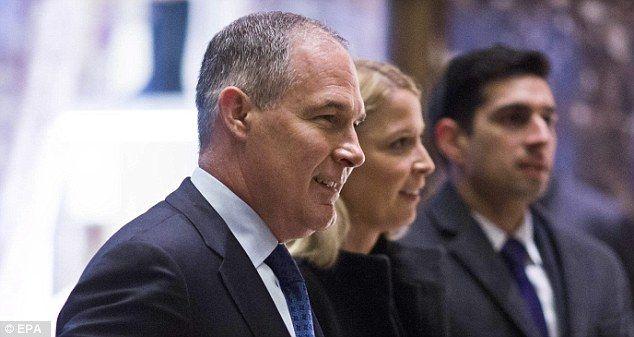 NEW YORK... Trump picks Scott Pruitt to become new EPA chief | Daily Mail Online