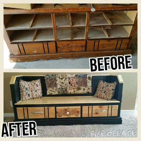 Change An Old Dresser Into A Bench Old Dresser In 2019