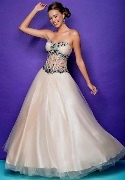 Prom Dresses with Corset