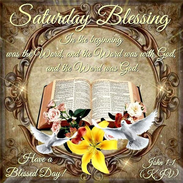 Image result for saturday blessings with bible verses