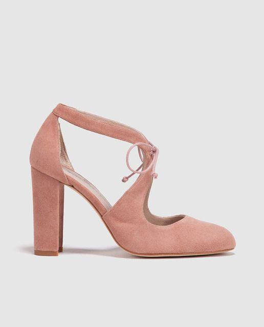 Zapatos de salón de mujer Ortiz Gloria Ortiz mujer de piel rosas Vestuario d0dfb7