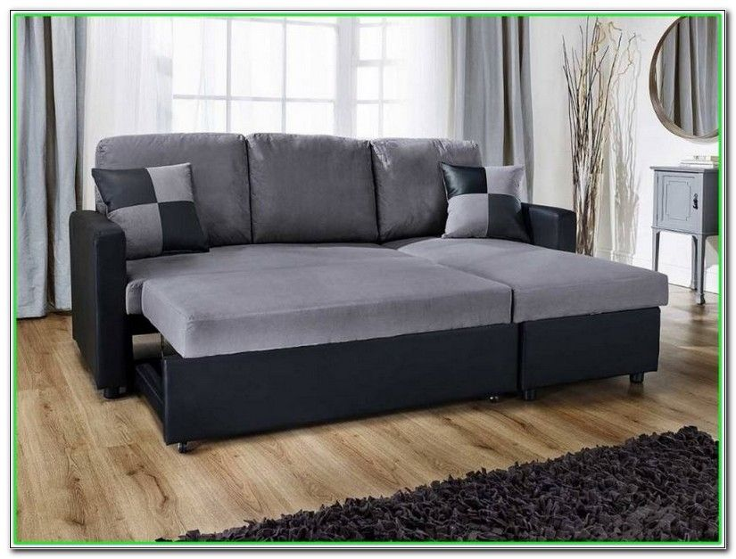 L Shaped Couch With Pull Out Bed Home Design Ideas Sofas For