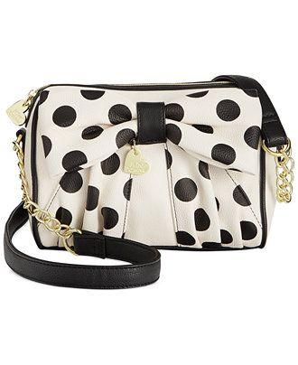 cdb876eed857 Betsey Johnson Crossbody - All Handbags - Handbags   Accessories - Macy s