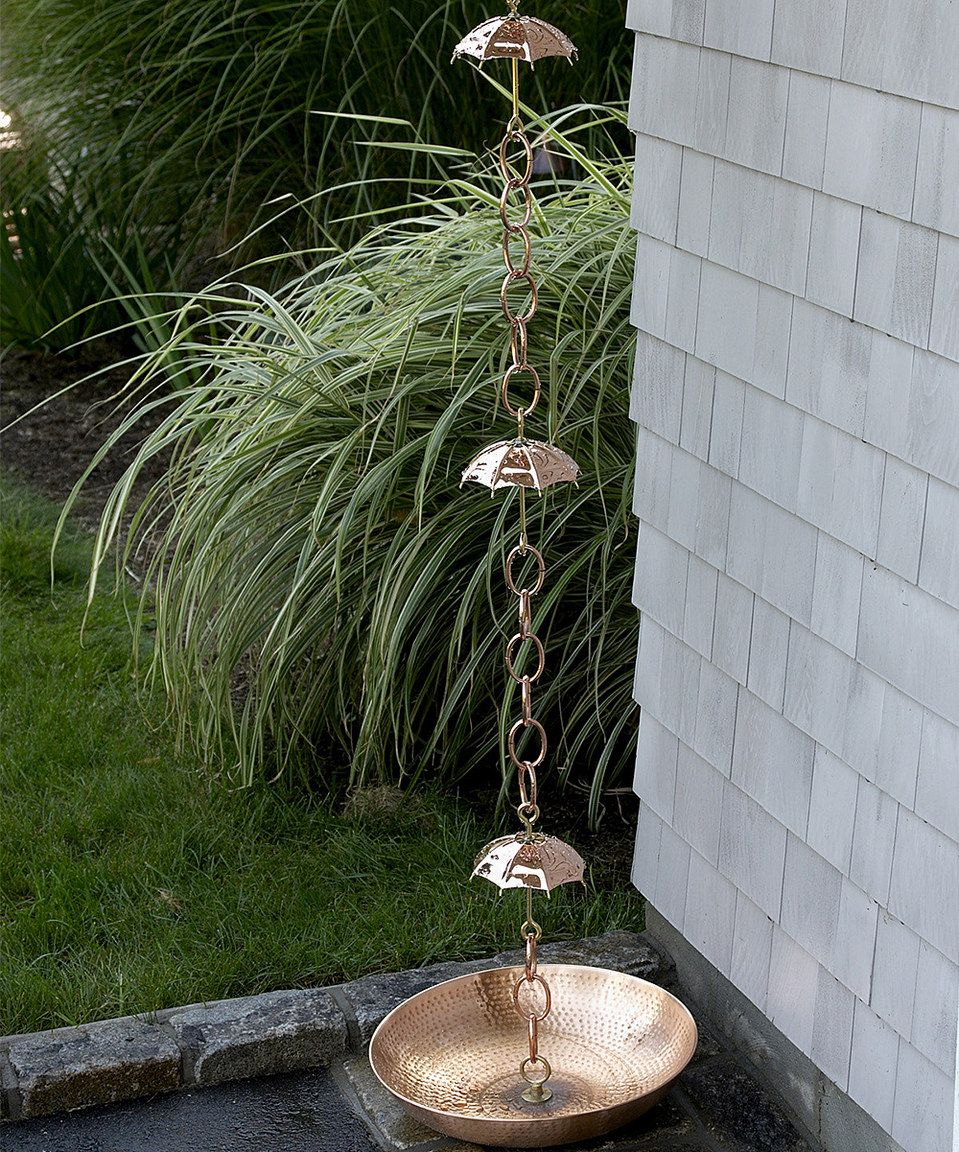 Look what i found on zulily polished copper rain chain