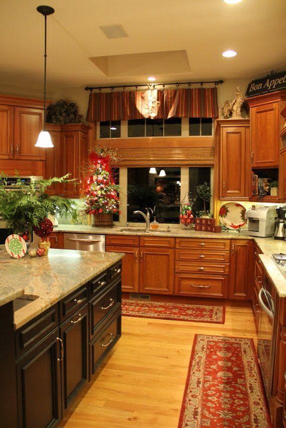 unique kitchen decorating ideas for christmas christmas kitchen kitchen decor home decor on kitchen ideas unique id=48748