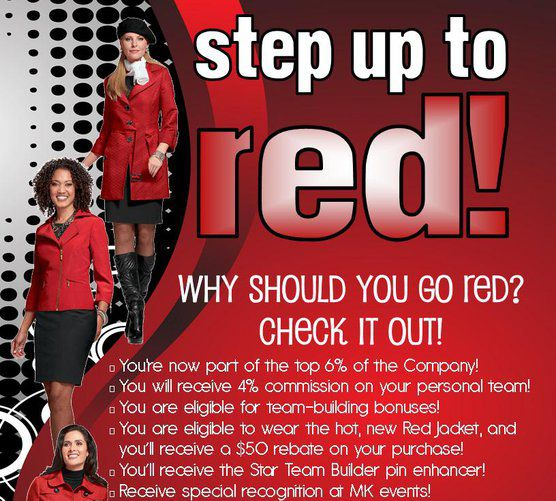 Mary Kay Red Jacket Become A Red Jacket Www Marykay