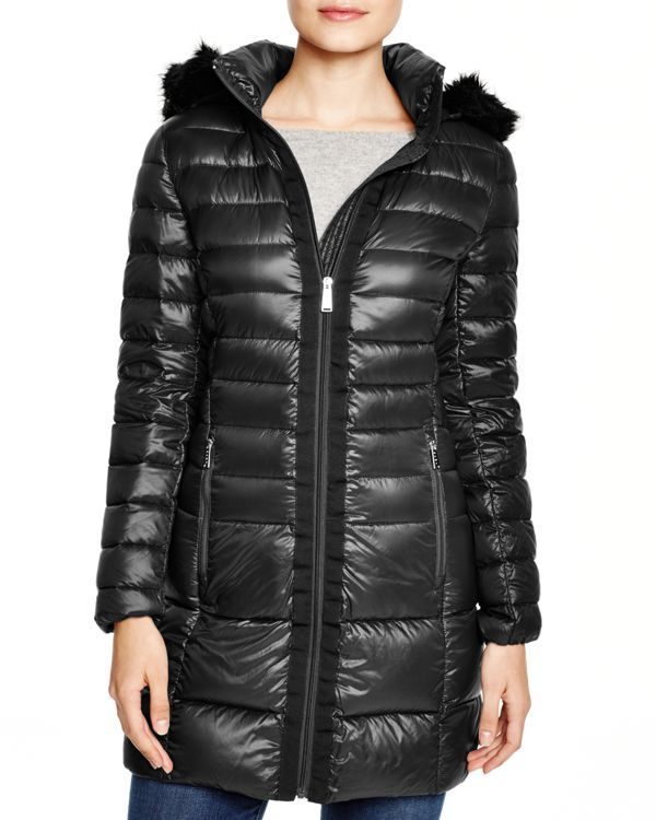 Dkny Lightweight Hooded Puffer Coat | Products | Coat