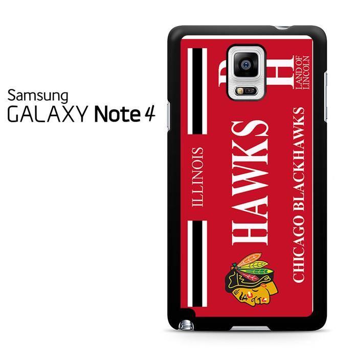 Chicago Blackhawks Samsung Galaxy Note 4 Case