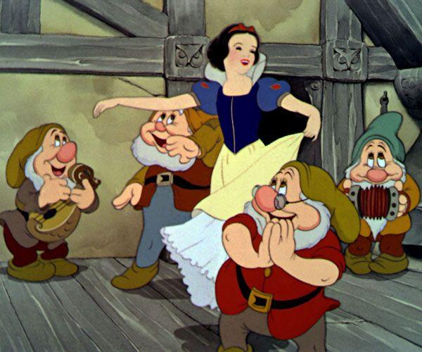 Snow White through theyears