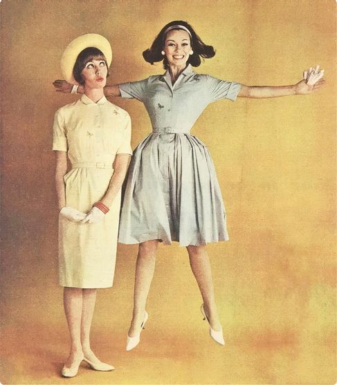 Spring dresses 1960s