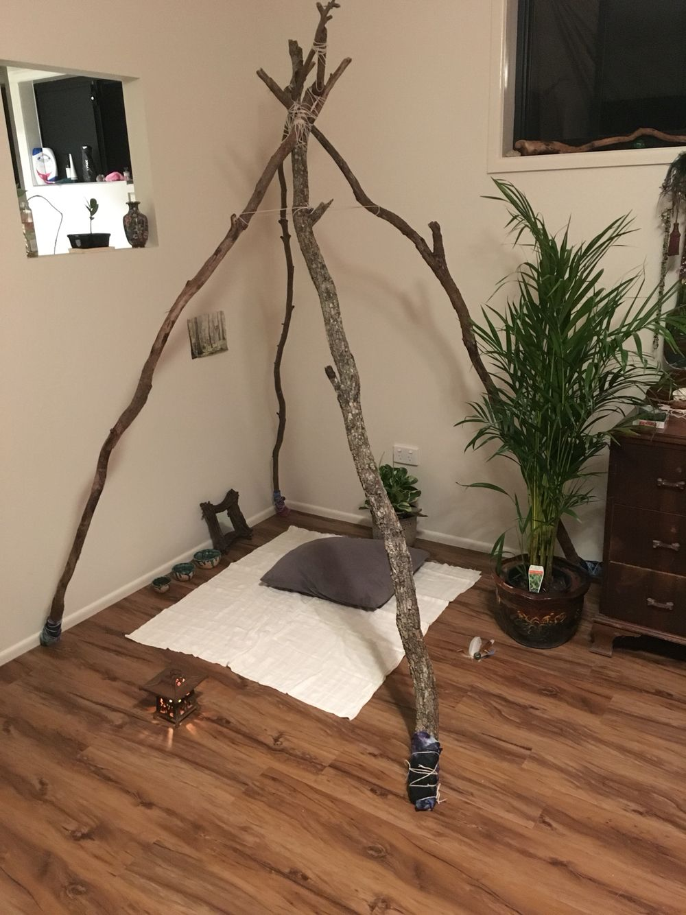 My New Meditation Corner Pinteres