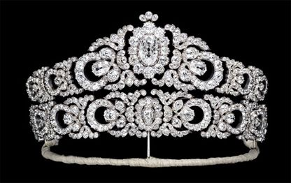 The Archduchess Maria Anna's Tiara. It was made in Vienna by Moritz Hübner in 1903