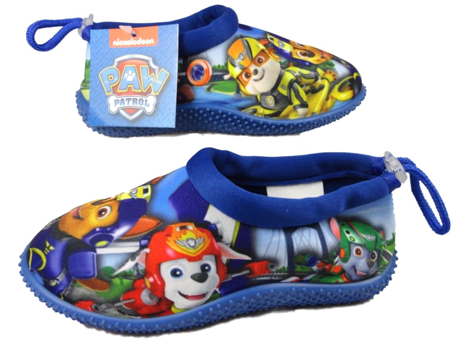 9 95 GBP Boys Paw Patrol Surf Aqua Sock Beach Swim Water Shoes 5