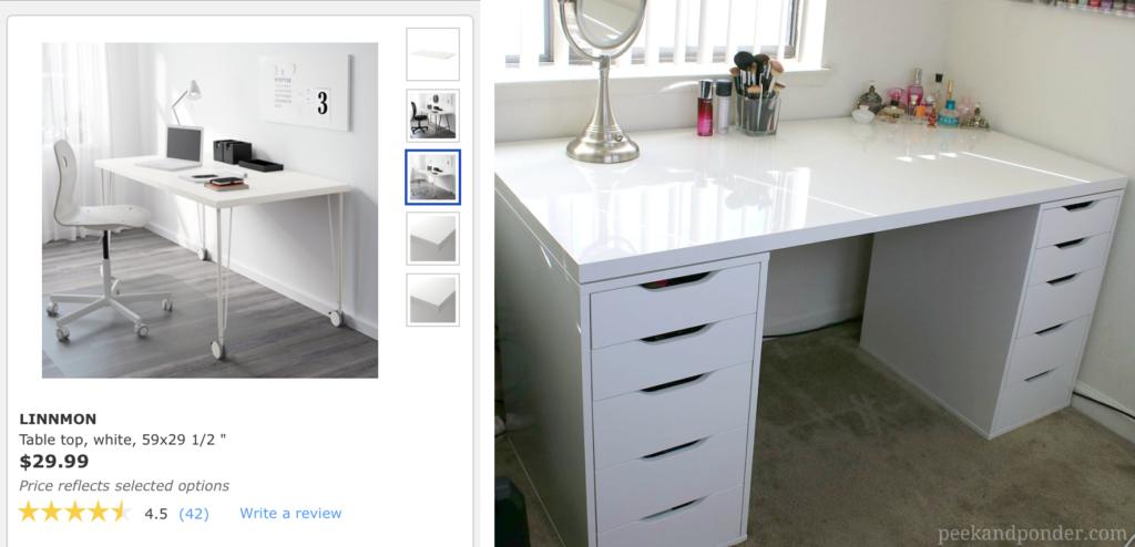 29+ Ikea alex desk top inspirations