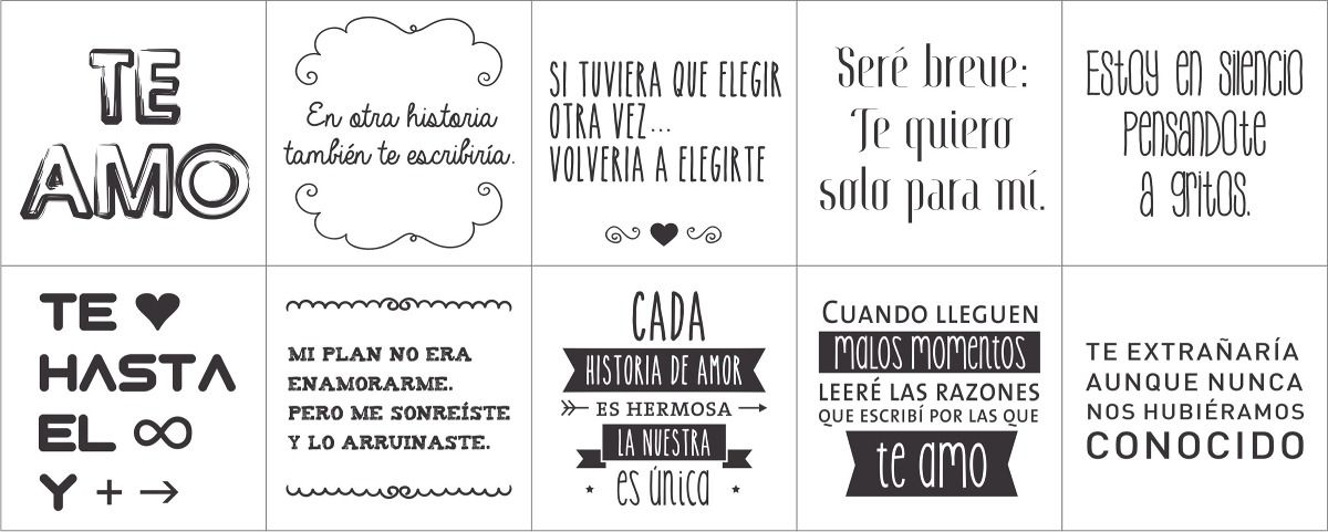 Resultado de imagen para frases para frascos de amor frases amor label paper y frases Vinilos de amor