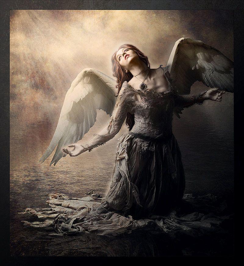 Fallen Angel Art Ch-hell-sea