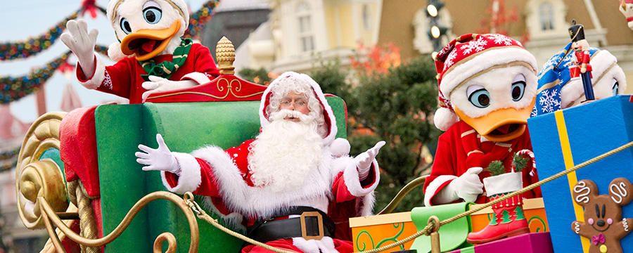 Meet Santa Disneyland Paris