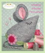 Matilda Mouse Pincushions - PDF Pattern