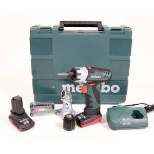 METABO 10,8-Volt-Akku-Bohrschrauber POWERMAXX BS PRO Set 2 x 3,0 AH