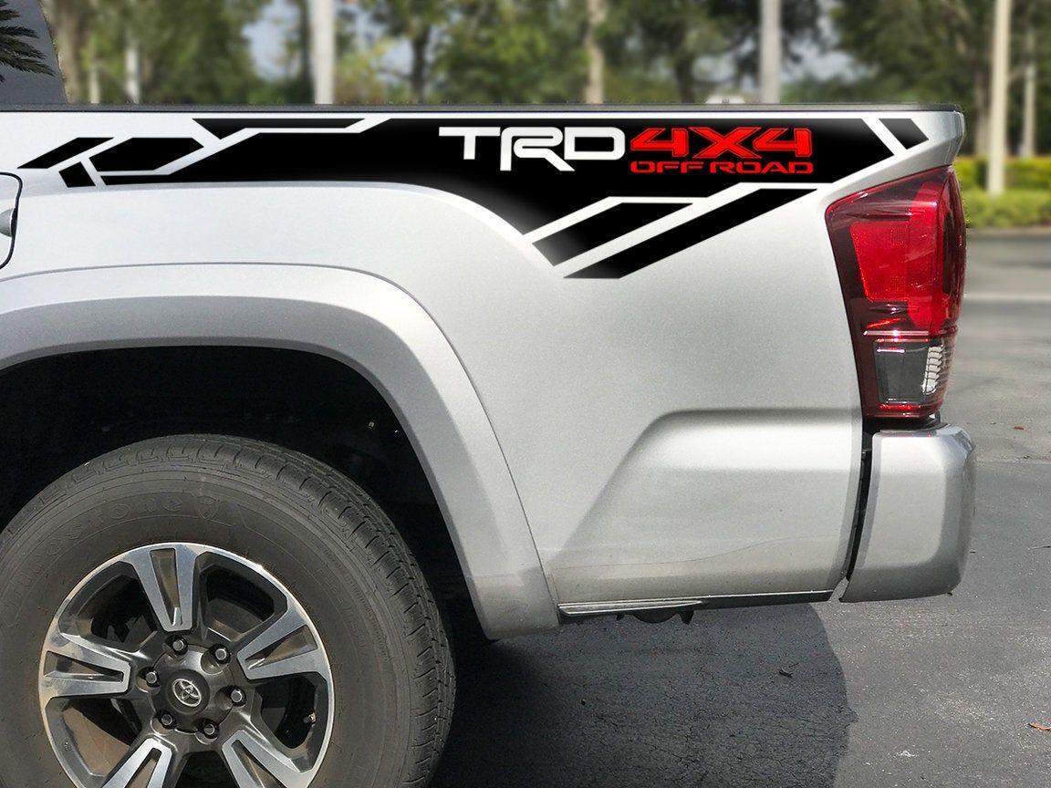 Trd 4x4 Off Road Decals Trd Toyota Tacoma Interior Toyota Tacoma Accessories [ 864 x 1152 Pixel ]