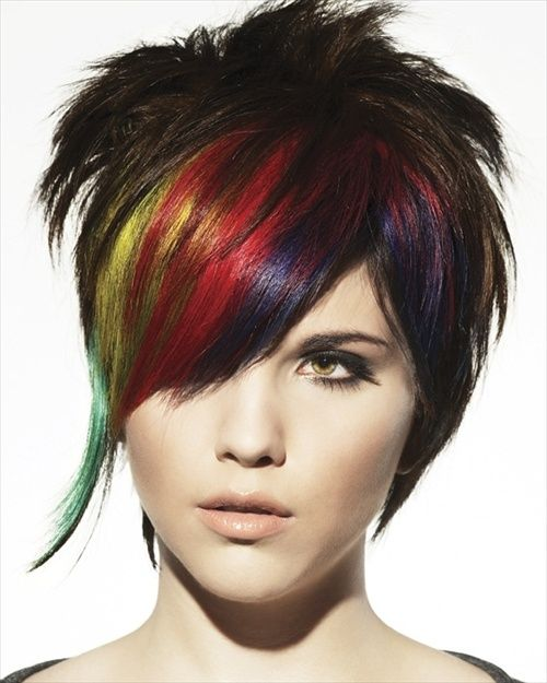 Remarkable 1000 Images About Punk Hairstyles On Pinterest Punk Hairstyles Short Hairstyles For Black Women Fulllsitofus