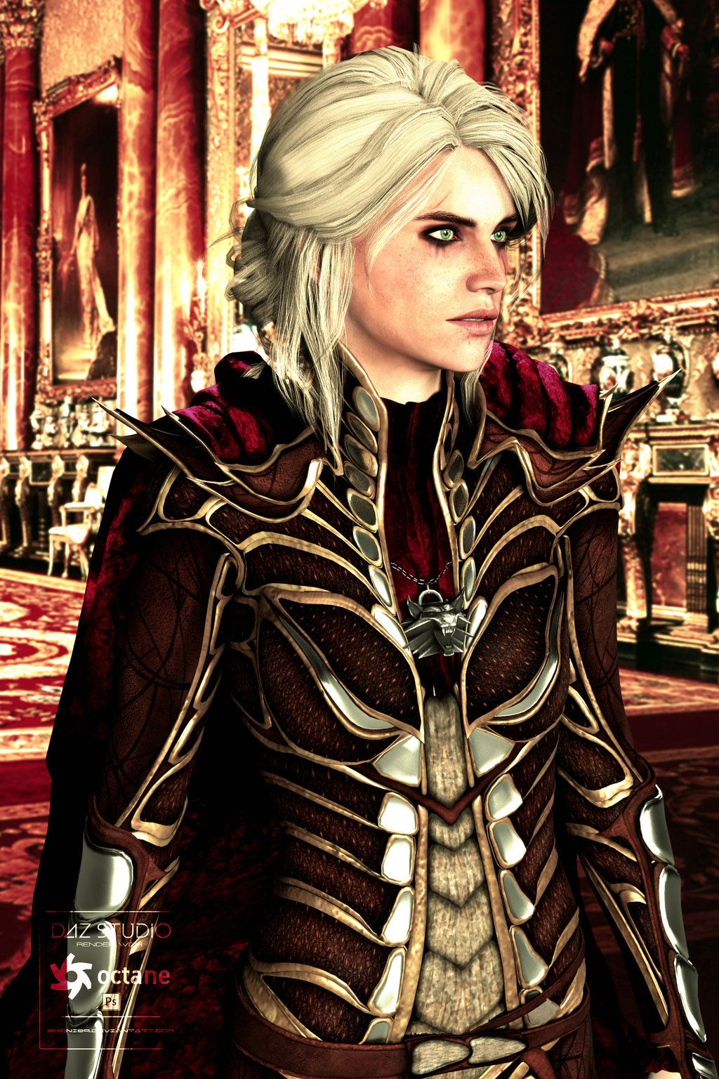 Ciri Witcher Or Empress : witcher, empress, Empress, Ciri,, Witcher,, Witcher