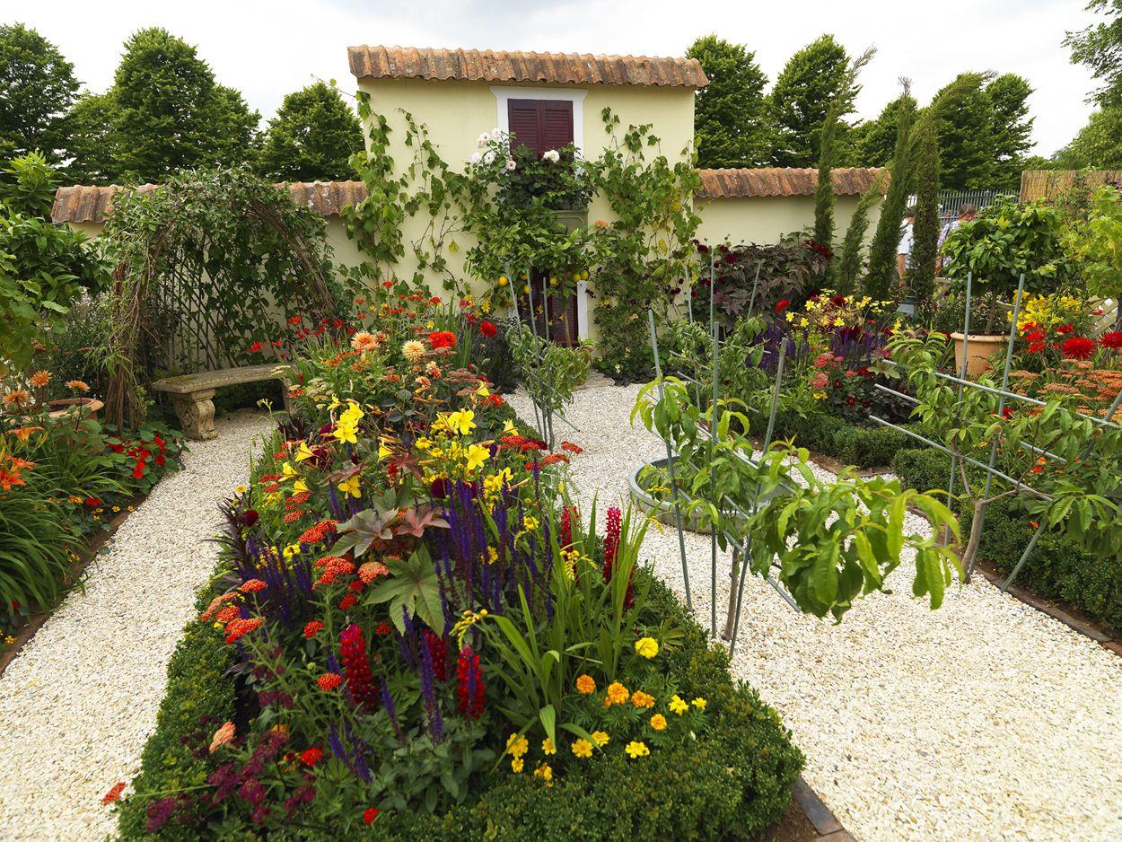 Beautiful walled garden (Photo credit Radical Rooney