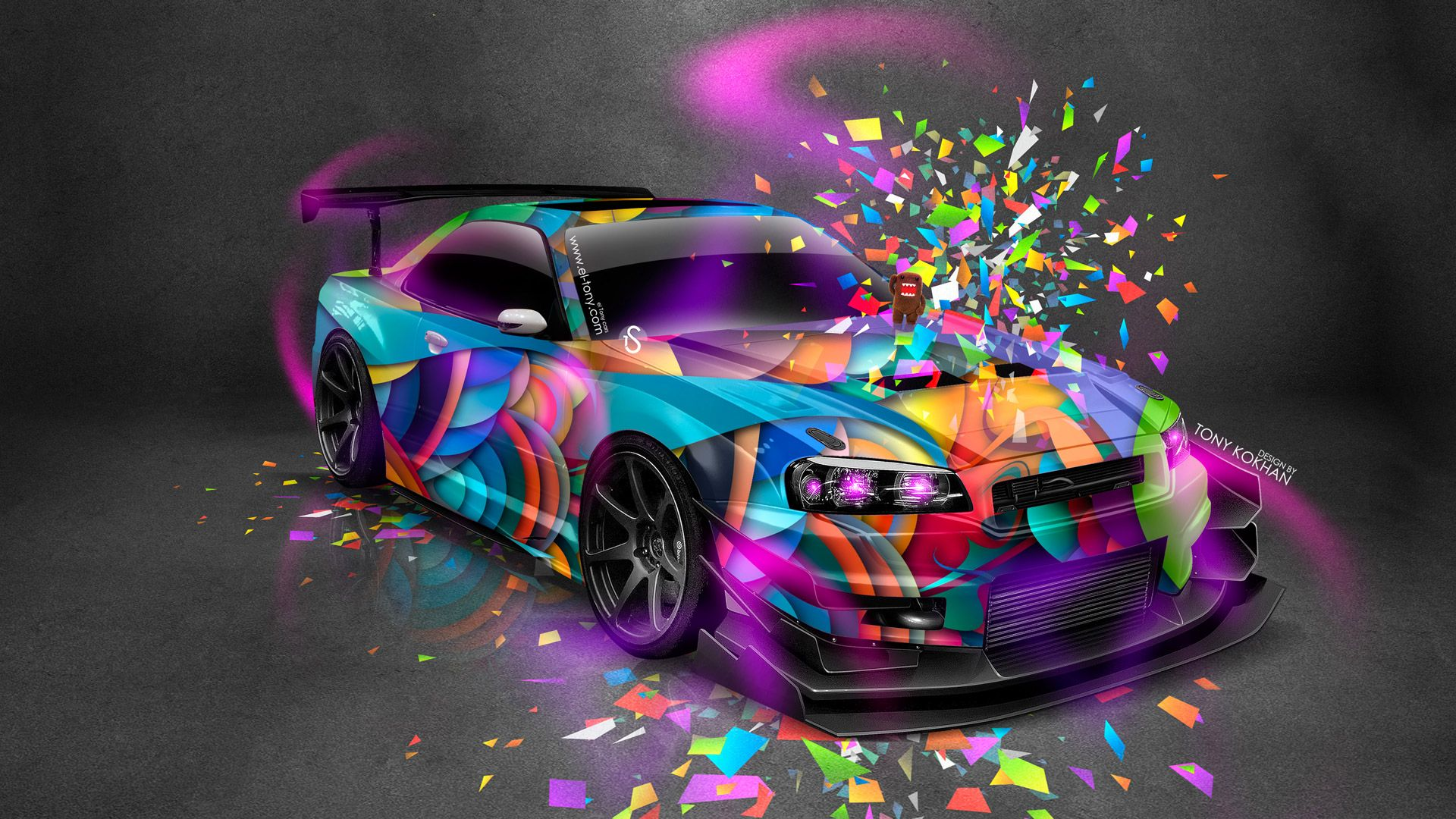 Exceptionnel Nissan Skyline GTR R34 Tuning JDM Style Domo