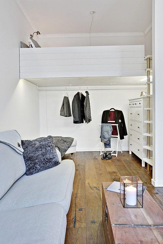9 Super Stylish Studios That Prove One Room Is Enough Apartment