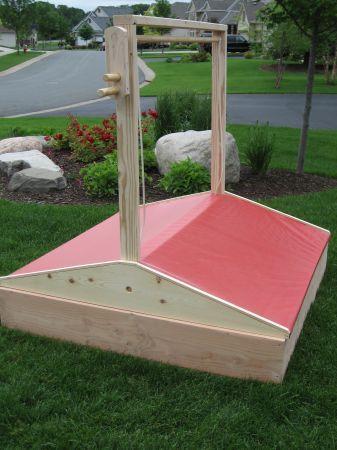 Sand Box Bac A Sable Sable Enfant Cabane Enfant