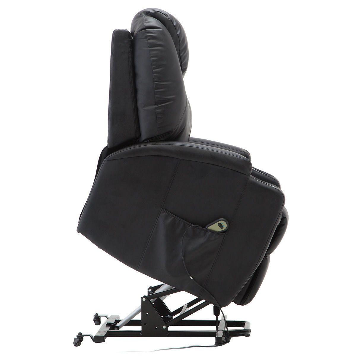 Giantex Electric Lift Power Recliner Chair Heated Massage ...