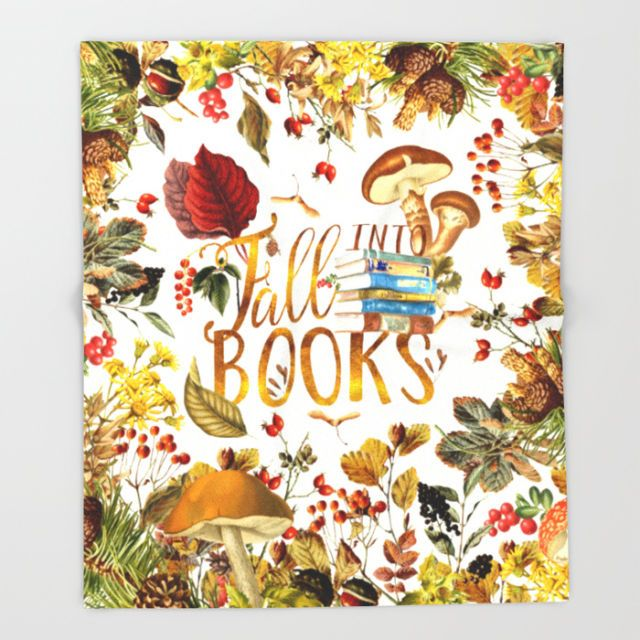 40 Fall Decorations For Hardcore Book Lovers Gift Ideas For Book Delectable Book Lovers Throw Blanket