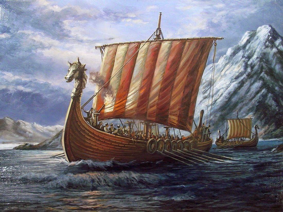 Pin by paul torres on viking ships | Viking ship, Viking ...