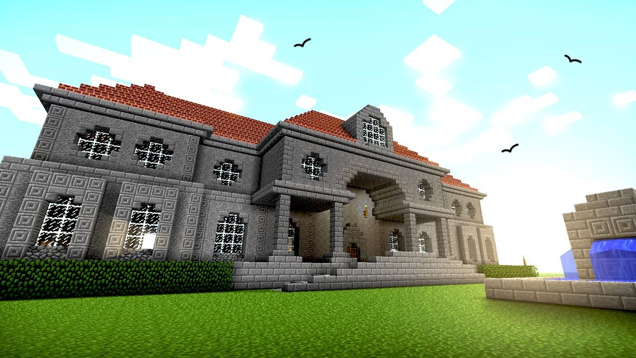 Minecraft Mansion Ideas Free PC XBox Pocket Edition Mobile Seeds And