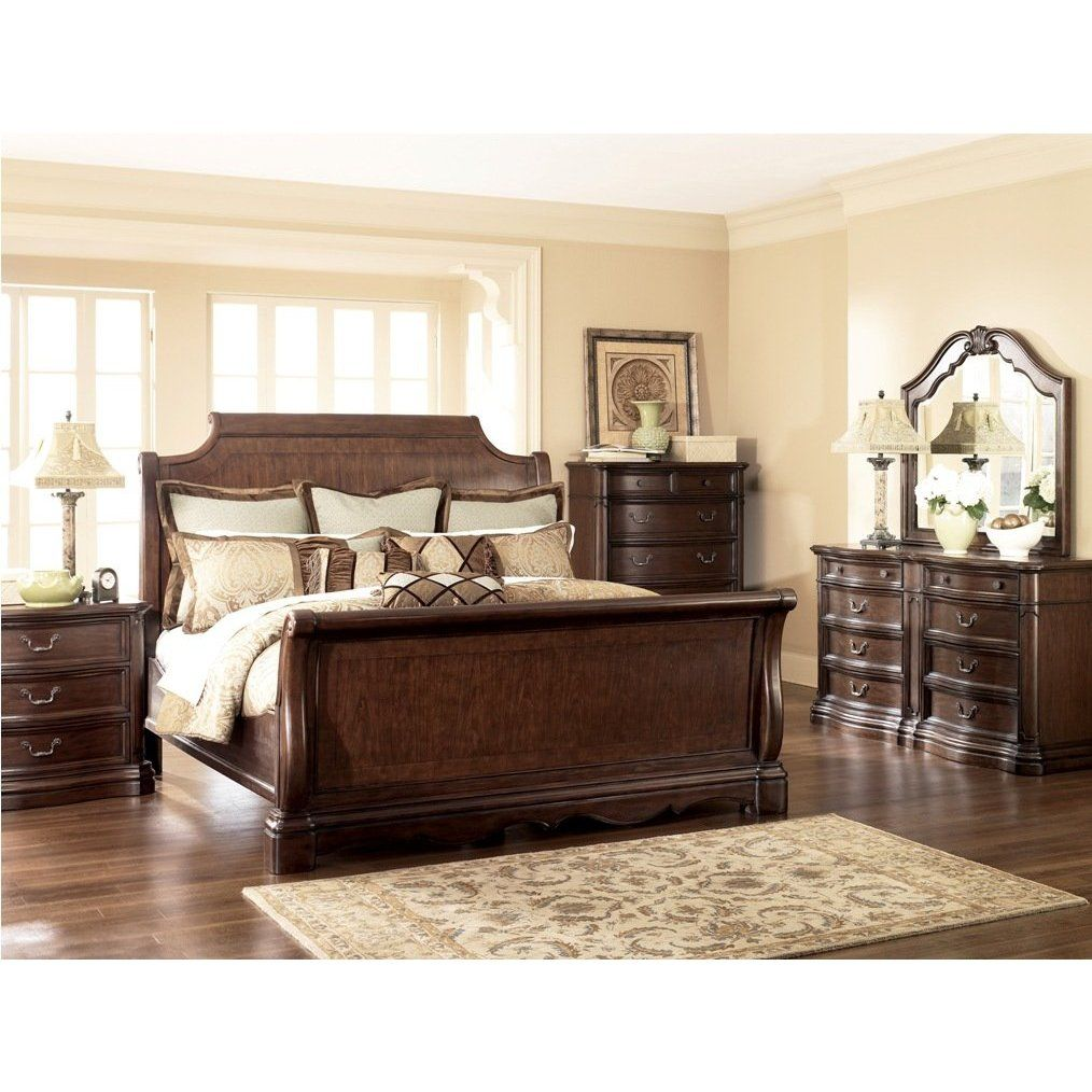 Amazon.com: Ashley Furniture Camilla Sleigh Bedroom Set