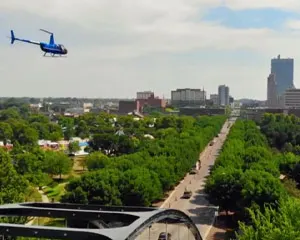 Helicopter Ride Fort Wayne, Deluxe Tour - 30 Minutes
