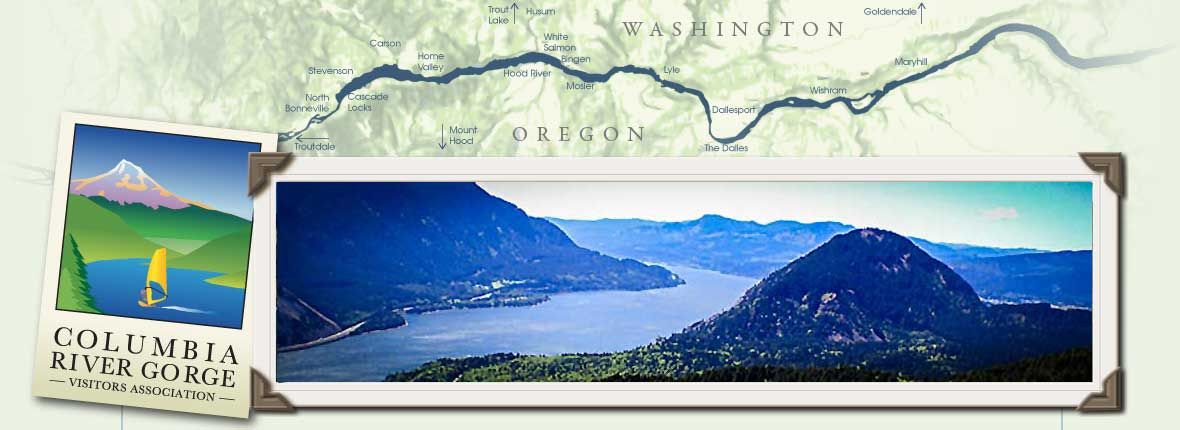 A Day's Adventure traveling the Columbia River in Oregon by