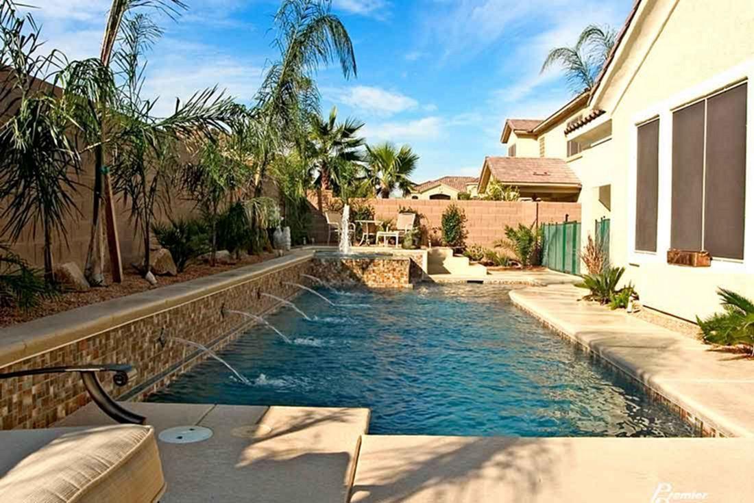 Inground Pool For Small Backyard Pools Pinterest Backyard Small Inground Pool And Pool Designs Small Pools Backyard Backyard Pool Small Backyard Pools