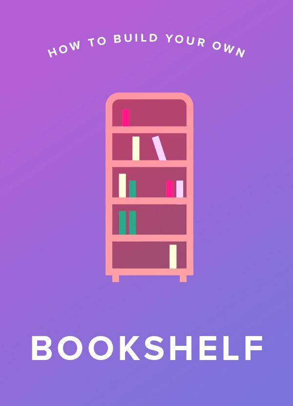 A bookshelf is an easy way to get more storage. Make your own with this DIY project. It's so easy and simple.
