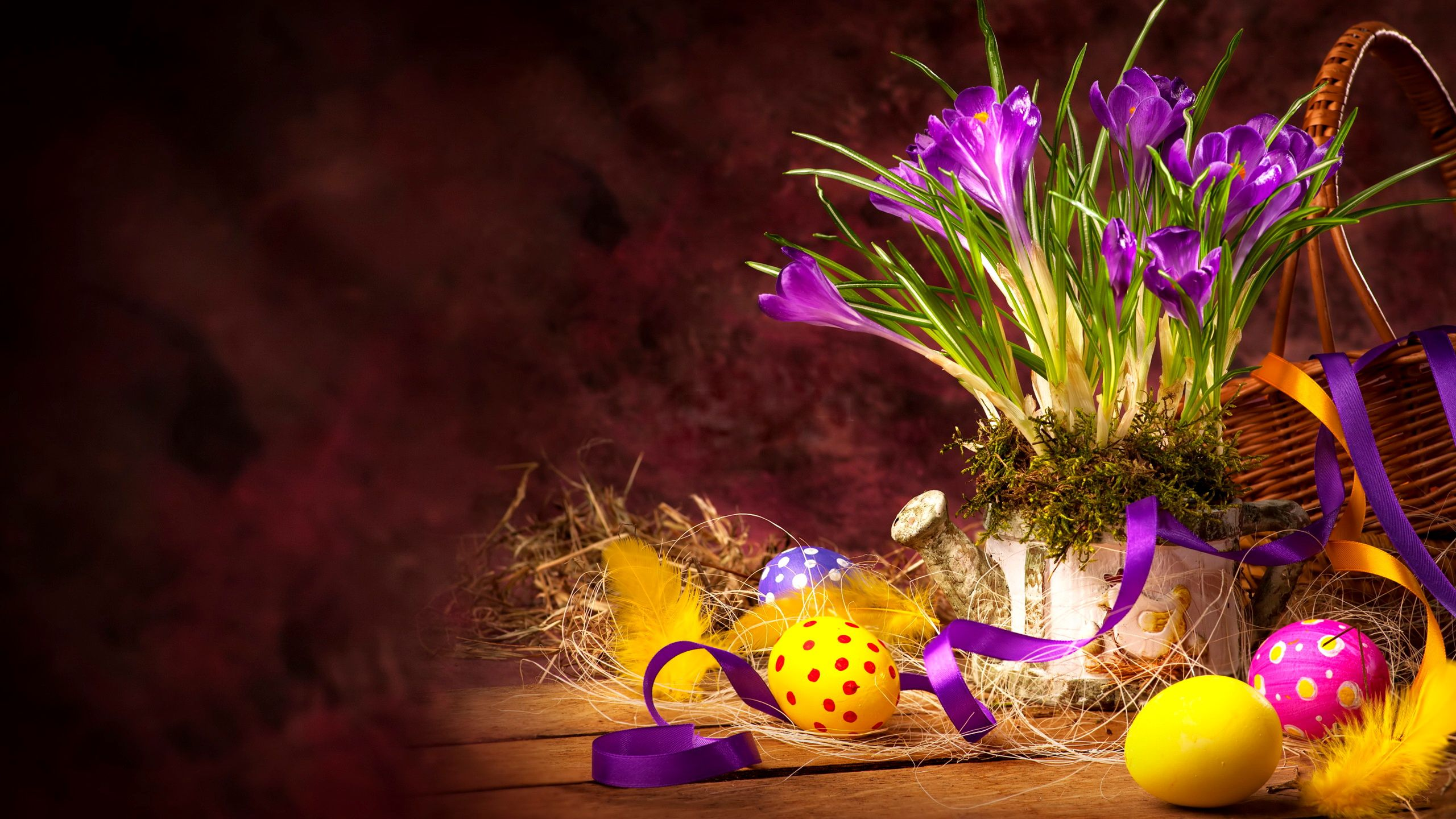 Hd wallpaper easter - Hd Happy Easter Wallpaper Download Free 2560x1440px 3d Easter