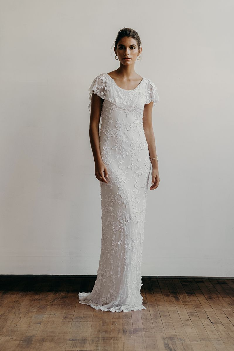 Sophie dress front | Lena Medoyeff | Bridal | Portland, Oregon ...