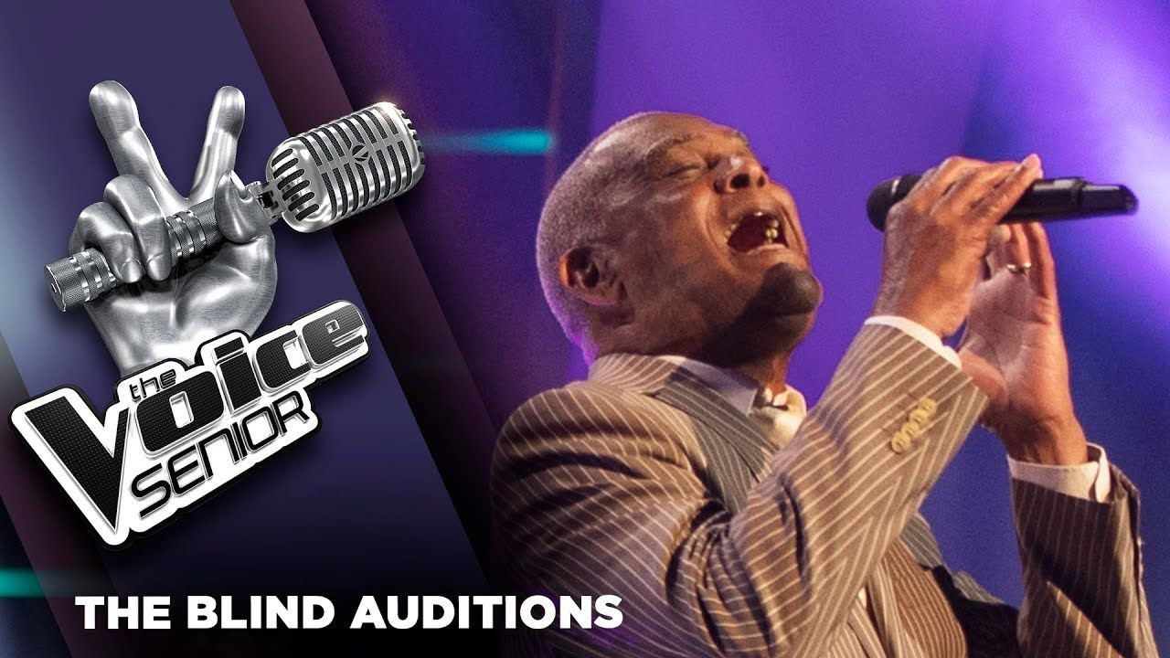 Rene Bishop Unchained Melody The Voice Senior 2018 The Blind
