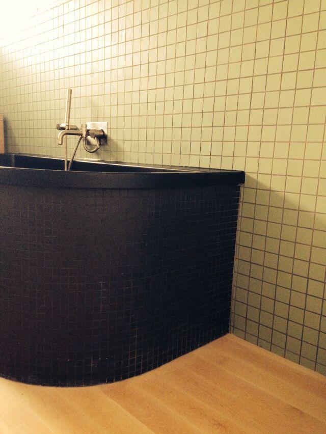 winckelmans pistache black bath and birch floor love it salle de bain adultes pinterest. Black Bedroom Furniture Sets. Home Design Ideas