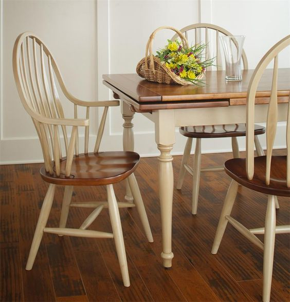 Amish Grainvalley Drawleaf Extension Dining Table In 2019