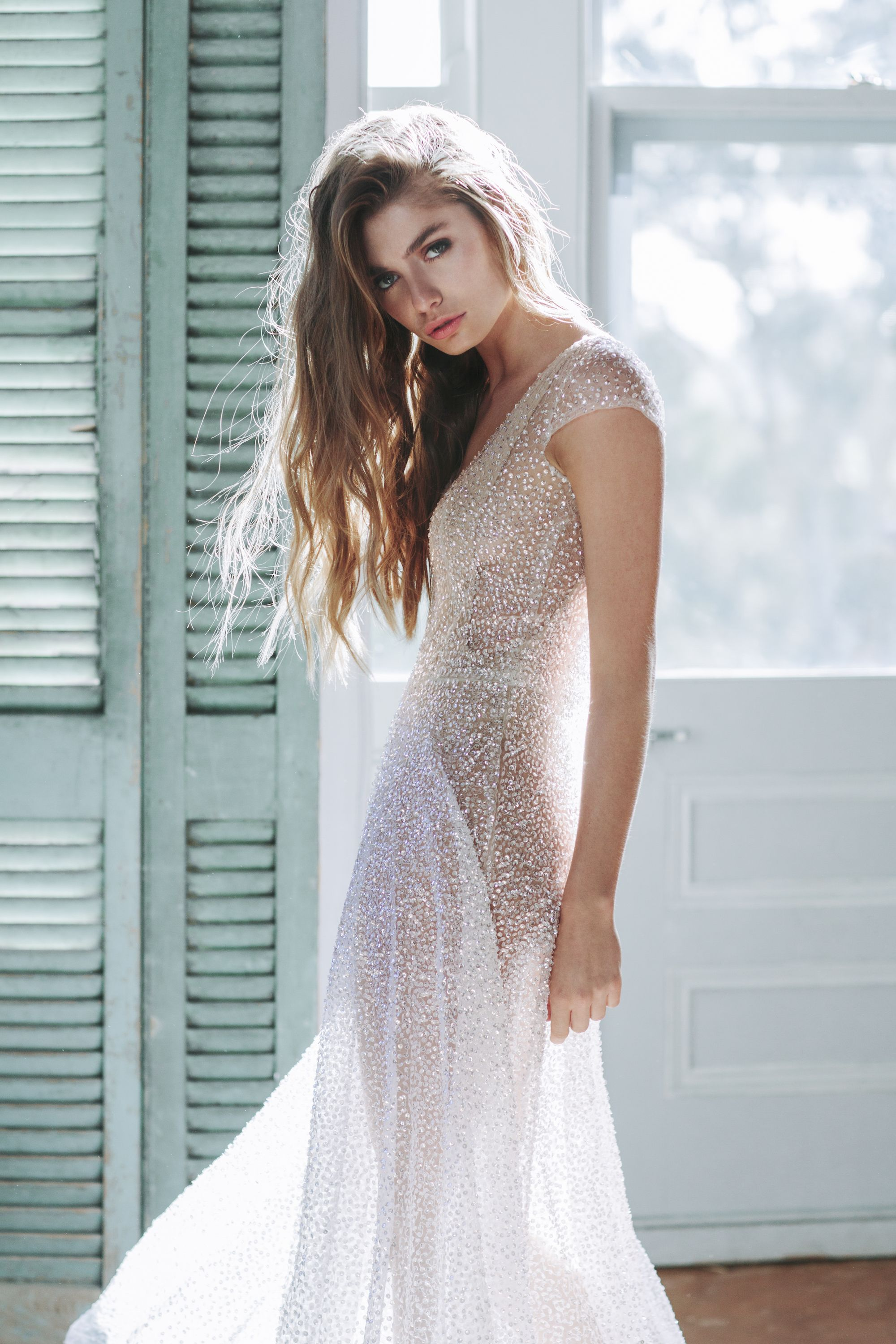 Anna Campbell bridal Ceremony Collection. Sydney dress in ivory ...