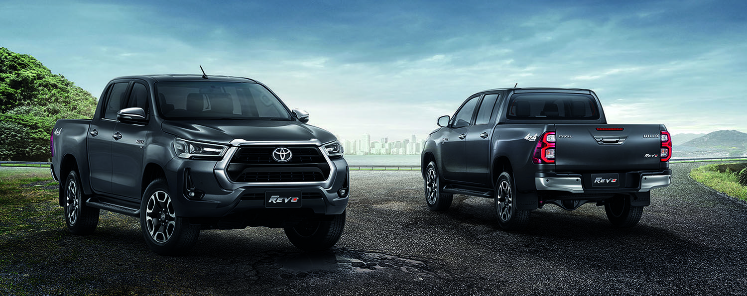 2020 Toyota Hilux Revo Facelift Thai Prices And Specs In 2020 Toyota Hilux Toyota Facelift