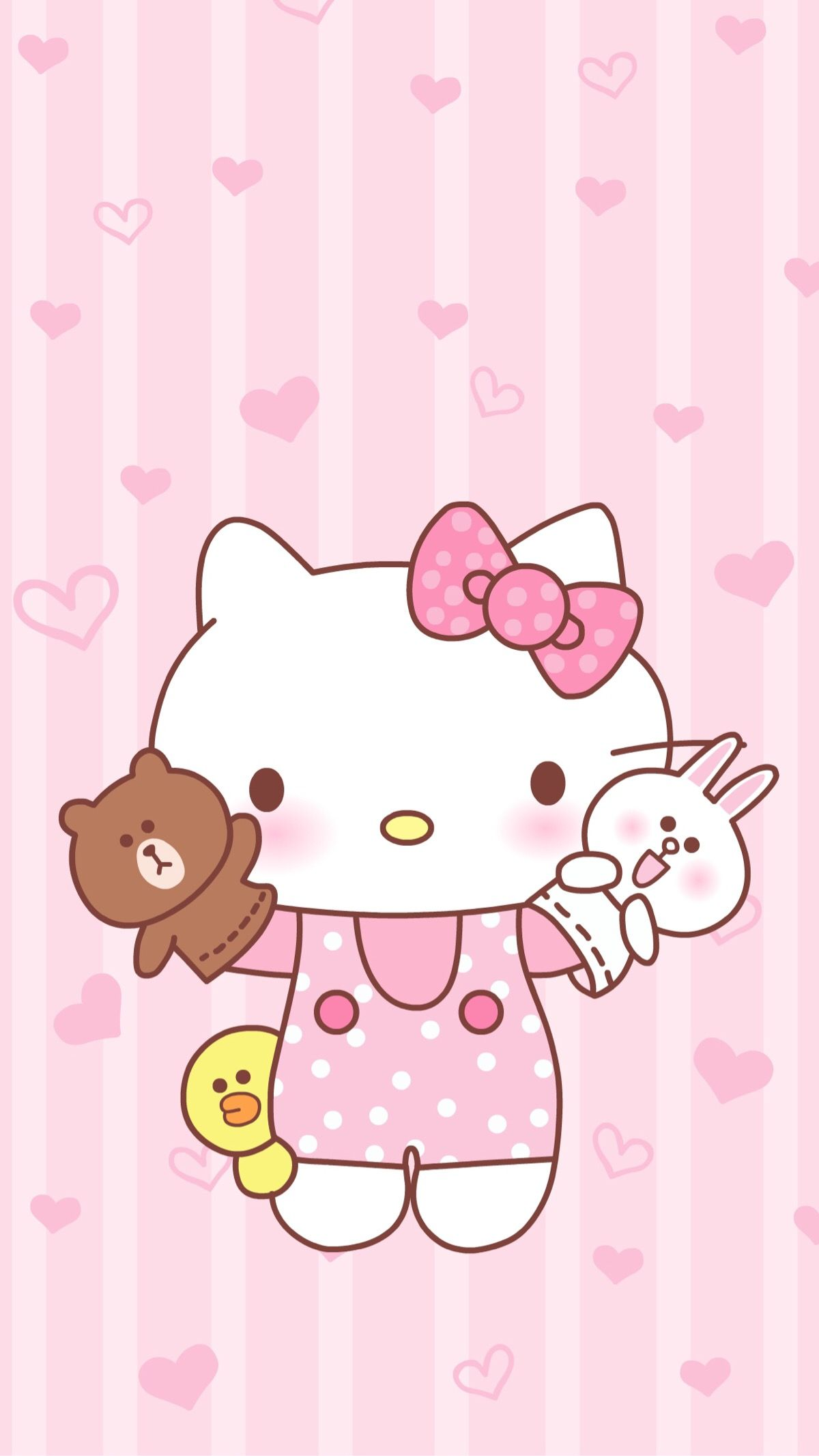 Pin By Cinnamon Roll On Sanrio Wallpaper Hello Kitty Iphone